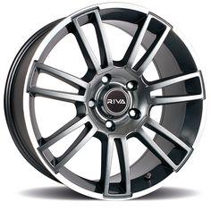 19 inch #STAGGERED RIVA ATV 5x112 GUNMETAL 5 stud #VW #Porsche alloy #wheels