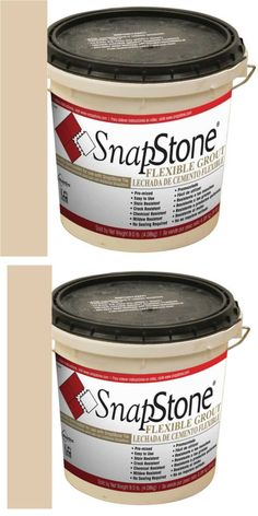 Grout Glue And Substrates 162080 Snapstone 9 Lb Almond Urethane Premixed Based Flexible