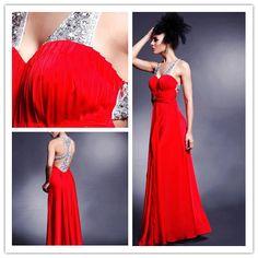 #Sheath/Column #V-neck Floor-length #Prom #Dresses 03699  US$128.99     Find it here.... http://www.honeydress.com/b/Sheath-Column-V-neck-Floor-length-Prom-Dresses-03699.html...