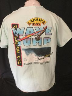 Unique Vintage 1980's Tourist Dr. Scrubs T-Shirt Surf Beach 50/50 Hawaii Surfing Made in USA by 413productions on Etsy
