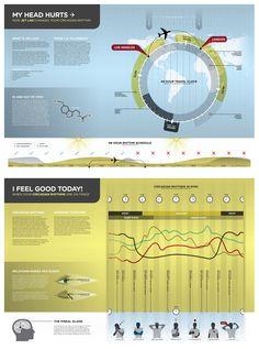 Infographic on the circadian rhythm cycle - by designer Matt Kursmark - mattkursmark.com