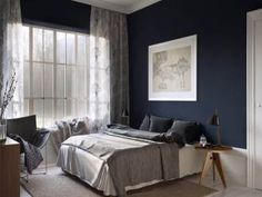 Dark And Moody Home Via Cocolapinedesign Com Bedroom