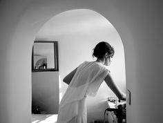 Intimate Santorini Wedding - Real Weddings - Once Wed
