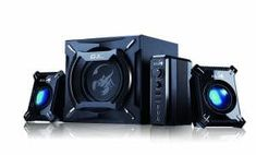 Genius 2000 Channel 45 Watts RMS Gaming Woofer Speaker System for Android, Apple Devices, Tablets, Laptops, PC Best Computer Speakers, Woofer Speaker, Desktop Speakers, Satellite Speakers, Best Speakers, Stereo Speakers, Gaming Computer, Laptop Computers, Xbox 360