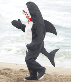 great white shark child costume - Chasing Fireflies