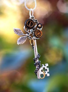 Nature of Zen Key Necklace