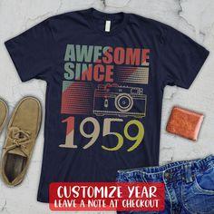 cadeau d/'anniversaire thème Femmes T-shirt nouveau Légende depuis 1966-année de naissance