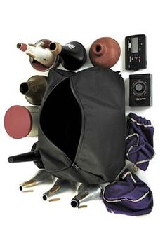 Torpedo Bag Classic Trumpet Case, Black