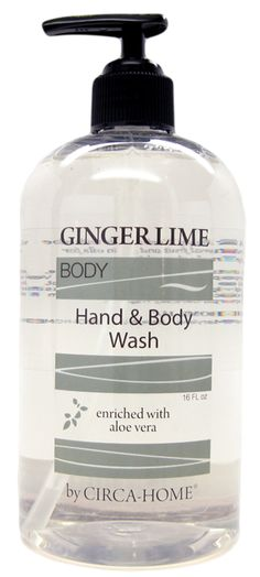 Ginger Lime Hand & Body Wash | green 3 | #USAMade #NaturalSkinCare #AllNatural