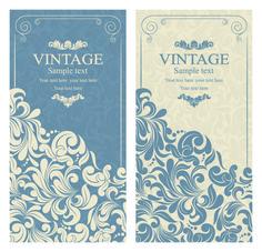 Элегантный Vintage Style Design Приглашения