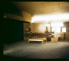 Falk apartments, Los Angeles, Calif., 1938 :: Architectural Teaching Slide Collection