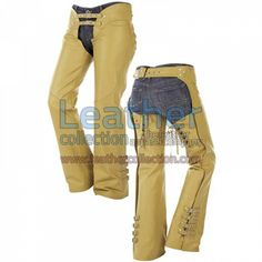 Buckles on Legs Leather Cowboy Chaps for $95.20 - https://www.leathercollection.com/en-we/buckled-legs-leather-cowboy-chaps.html