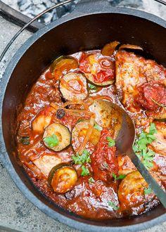 Dutch Oven Provencal Chicken Stew