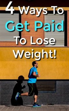 Here're 4 ways you can get paid to lose weight. All are legitimate and pay via PayPal! Plus a bonus way to earn even more!