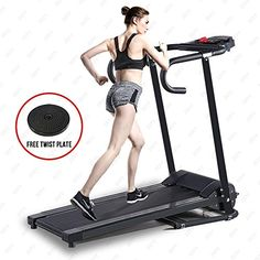Electric Motorized Treadmill Portable Folding Fitness Running w/Free Gift Price USD 0 Bids. End Time: PDT Treadmill Reviews, Treadmill Workouts, Running On Treadmill, Running Workouts, Running Belt, Workout Routines, Treadmills For Sale, Running Machines