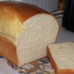 """Ron's Bread Machine White 