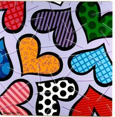 Neo Pop, Arte Country, Graffiti Painting, Clay Tiles, Arts Ed, Arte Pop, Abstract Pattern, Pop Art, Art Projects