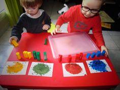 Apprentissage des couleurs #montessori