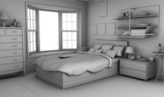 INT. DEMI_NICE_BEDROOM___DAY