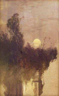 Nocturne, ca. 1900 Roman Kochanowski (Polish, 1857 - 1945) -
