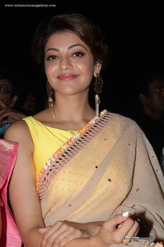 Kajal-Agarwal-at-Paayum-Puli-Movie-Audio-Launch-(5)