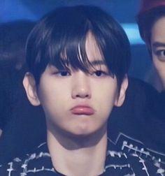 Oh god! His pouty face. Baekhyun, Exo Chanbaek, Exo Kai, Cute Gay Couples, Exo Memes, Xiu Min, K Idols, Korean Singer, Funny Kids