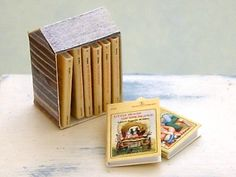 Tiny Little House books?! Want!