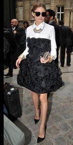 Olivia Palermo entre las mejor vestidas de la semana de la Alta Costura