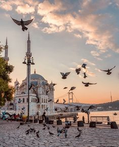 Ortakoy Mosque and the bridge gleaming under the last rays of sunlight. City Aesthetic, Travel Aesthetic, Mecca Islam, Mecca Wallpaper, Mosque Architecture, Gothic Architecture, Ancient Architecture, Nature Photography, Travel Photography
