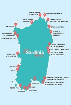 Dream beaches sardines: the most beautiful beaches and what makes them so special. - Dream beaches sardines: the most beautiful beaches and what makes them so special. Travel Destinations Beach, Places To Travel, Destin Beach, Beach Trip, Italy Vacation, Italy Travel, Rando, Hidden Beach, Santa Teresa