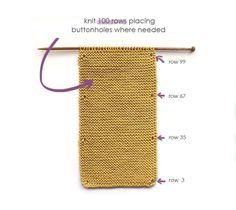 Knitted Baby ROMPER - GARTER Stitch [ FREE Pattern & Tutorial ]