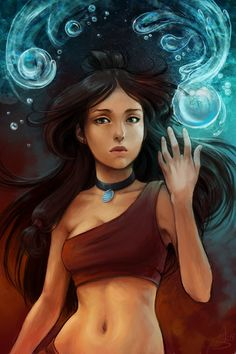 Katara - to this day she is my favorite female Avatar character ever. She is so strong and I admire that very much. xo Marie