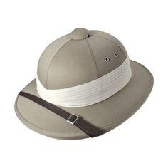 Possible Hat for Buffalo Jones Village Hat Shop African Safari Pith Helmet Adventure Hat, Pith Helmet, Safari Hat, Hat Stands, Hat Shop, African Safari, Vintage Costumes, Hats For Men, Caps Hats