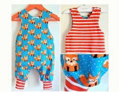 JUMPY Reversible Romper Baby Children Boy Girl pattern Pdf sewing ,  Easy, toddler newborn 3 6 9 12 18 m 1, 2 3 4 5 6 yrs Instant Download