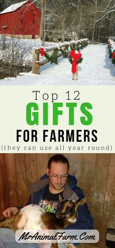 Shopping for farmers can be tough. Here are THE top 12 gifts for farmers that will be useful ALL year round!