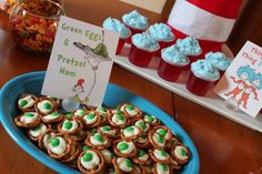 I Dig Pinterest: 13 Simple Dr. Seuss Crafts and Food Ideas for Kids