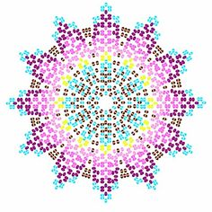 Peyote Patterns, Beading Patterns, Minecraft Beads, Beaded Flowers Patterns, Mandala, Seed Bead Flowers, Embroidery Bracelets, Fuse Beads, Perler Beads