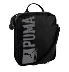 b4719657d4d3a Puma Pioneer Portable Bag Backpack Black Travel Gym Fitness Soccer 073472-01