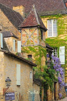In the Périgord region of France - Heaven on Earth.  Go here if you want to go back to the 1200s.