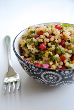 Best Israeli Style Couscous Recipe on Pinterest