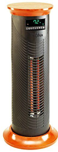 Lifesmart Products LS31CIQTMW Infrared Heater, 1500-watt, Black