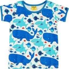 Duns T-shirt with sharks and whales http://www.letko.info/archives/25.html