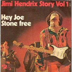 Hey Joe / Stone Free de JIMI HENDRIX, SP chez pycvinyl