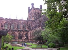 Chester Cathedral in England