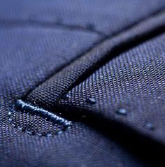 Impeccable tailoring detail