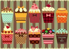 Cupcakes by dreamingviolet