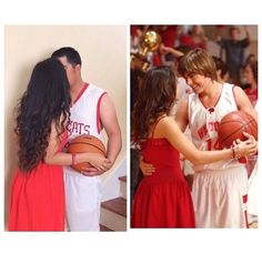 Troy and Gabriella costumes from high school musical for Halloween