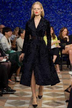 killer coat - looks like persian lamb; dior couture fall 2012