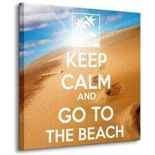 Obraz: Go to the beach - Nice Wall - Obrazy