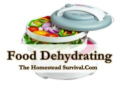 Food Dehydrating - The Homestead Survival - Homesteading - Tons of articles
